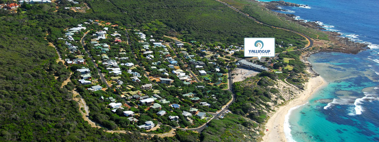 Birds Eye View of Yallingup